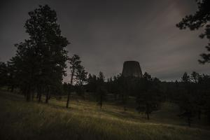 Devils Tower Night